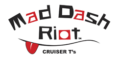 mad dash riot cruiser t-shirts logo for motorcycle design apparel and gifts